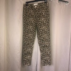 Free People We The Free Leopard high rise pant